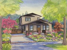 Classic Craftsman home in Sierra Madre, California