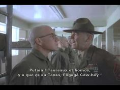 full metal jacket intro monologue - YouTube. Makes you want to join the army, doesn't it?