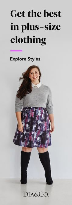 Love the skirt. Join a community of fashionable women who wear sizes 14+. Sign up for your first Dia box!