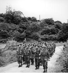 1ra División Blindada Polaca - ejercicios previos a la invasión al continente, 1944.