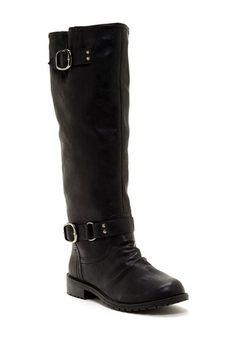 Dillian Tall Buckle Boot