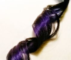 Royal Purple Hair Extension  Lush by BlessedEarthDesigns on Etsy, $7.00
