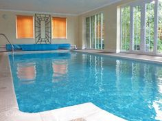 Beautiful holiday apartment with private indoor heated swimming pool         #holiday #rental #Cotswolds