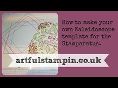 Artful Stampin' Uk Independent Stampin' Up! demonstrator - Ruth Trice: {Happy days! The Stamparatus has arrived!}
