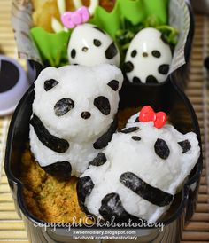 Bento for kids Bento, Panda, Pudding, Shapes, Desserts, Food, Tailgate Desserts, Deserts, Puddings