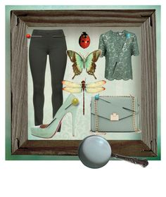"""Strange Collection"" by lullulu on Polyvore featuring Jennifer Lopez, Christian Louboutin and Valentino"