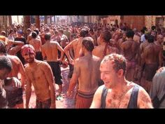 La Tomatina - 120 Ton Tomato Fight