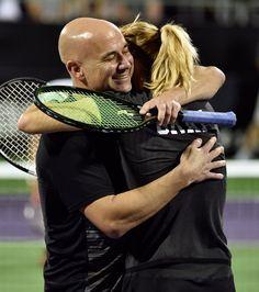 Pin for Later: Steffi Graf und Andre Agassi sind immer noch verliebt wie am ersten Tag
