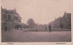 Oud beeld Stationsplein Alkmaar