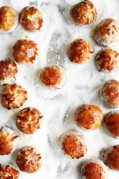 Brown Butter Brûléed Doughnut Holes