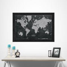 Conquest Maps provides stunning Travel Push Pin Maps for you to document your travels, adventures, vacations, trips, or honeymoon! You can customize them, too!