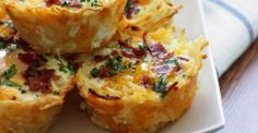 In this article we have collected the best brunch ideas and recipes. Sweet or salty, here's an inspiration for your brunch menu! Breakfast Cups, Morning Breakfast, Breakfast Recipes, Breakfast Ideas, Breakfast Cooking, Breakfast Sandwiches, Breakfast Pizza, Hash Brown Cups, Hashbrown Breakfast Casserole