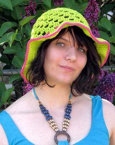 Summer Cotton Sun Hat by NStitchesCrochet on Etsy, $22.00