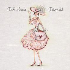 Cards » Fabulous Friend » Fabulous Friend - Berni Parker Designs