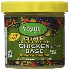 AN INSTANT, HEARTY BROTH GREAT FOR SOUPS, SEASONING AND MARINADES! A DELICIOUS SEASONING FOR VEGETABLES, PASTA, TOFU, YOGURT, GRAINS AND BEANS! Gluten Free, Low/much reduced level of Sodium, Organic Formula, Certified Vegetarian & Vegan;