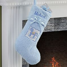 Baby's First Christmas Stocking 9in | Baby Baby | Pinterest ...