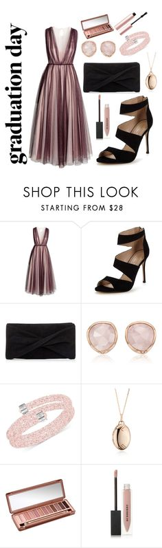 """""""Untitled #329"""" by anicka-duskova ❤ liked on Polyvore featuring H&M, Carvela, Reiss, Monica Vinader, Swarovski, Monica Rich Kosann, Urban Decay, Burberry and Too Faced Cosmetics"""