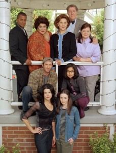 Gilmore Girls. Not boyfriend friendly, but I love it for some me time. Used to watch it with my Mom.