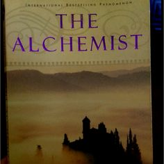 The Alchemist- First book that I am about to finish for fun in a really long time. Really good!