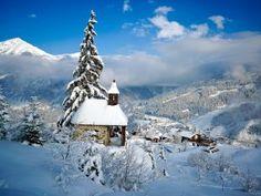 Imagenes - FONDITOS: Pueblo nevado - Paisajes, Invierno