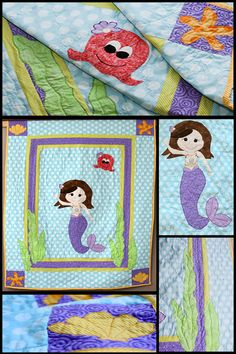 Enchanted Mermaid Quilt Pattern COMING SOON! I just LOVE this one!