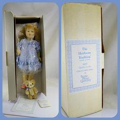Goldy Locks Doll Bessie Pease Gutmann Teddy Bear Box COA