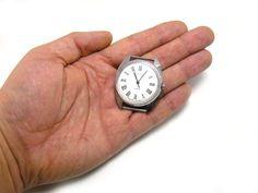 #Vostok, working #watch, rare watch, men watch Vostok, Soviet wristwatch, mechanical wristwatch #vintage watch with white dial, Soviet watch  Cool men's watch with. This watch... #wristwatches #accessories #retro #etsy #giftforher #forhim #vostok ➡️ http://jto.li/6ZjSG