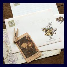 Alice  Letter Paper: Alice in Wonderland Letter paper