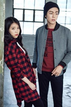 IU and Lee Hyun Woo are street fashion smart in 'Unionbay' wear | allkpop.com