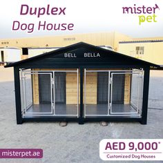 Large Duplex Dog House @ AED 9000* AED 🇦🇪️ Order Online Now 🖥>>https://goo.gl/JGFLvR  * Can be customized in any size * Can be Customized with Extra Rooms * FREE Delivery & installation (Dubai, Sharjah)👨🔧  #MisterPet #MisterPetUAE #MisterPetDubai