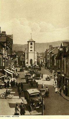 Main Street, Keswick. #postcards