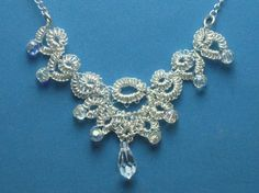 Fine Silver Tatted Jewelry by The Joyful Tatter - The Beading Gem's Journal