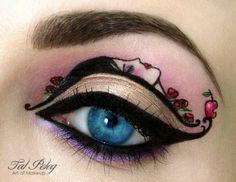 Awesome eye make-up art