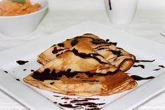 Tejszínes palacsinta mascarponés sütőtökkrémmel Waffles, Pancakes, Yummy Food, Breakfast, Ethnic Recipes, Breakfast Cafe, Delicious Food, Pancake, Waffle