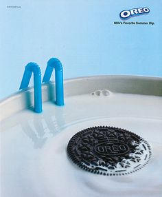 The perfect summer swimming pool – Oreo and milk Advertising Done Right: 25 Memorable Ads Clever Advertising, Advertising Poster, Advertising Campaign, Advertising Design, Marketing And Advertising, Milk Advertising, Viral Marketing, Crea Design, Ad Design