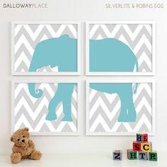 Boy Nursery Art for Boys Room Decor Baby Boy by DallowayPlaceKids