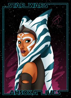 RCBrock Here! Its #FanArtFriday and im posting a colored version of my drawing of #ahsokatano from #StarWarsRebels Hope you like it folks. #StarWars #Ahsoka #AhsokaLives