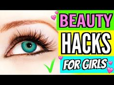 Cool BEAUTY LIFE HACKS FOR GIRLS!!! - video