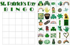 St. patricks Day Bingo cards