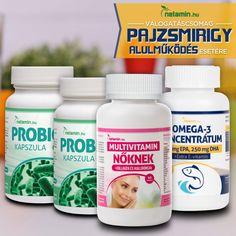 Diéta-alapok pajzsmirigy-alulműködés esetére - Netamin Omega 3, Vitamins, Vitamin D