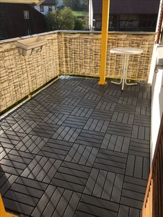 ikea deck tiles patio pick me up pinterest decking balconies and patios. Black Bedroom Furniture Sets. Home Design Ideas