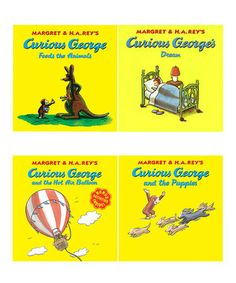 Curious George: Animal Dreams Paperback Set