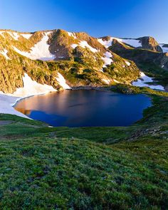 ✮ The sunrise casts its warming rays upon King Lake high in the Indian Peaks Wilderness of Colorado