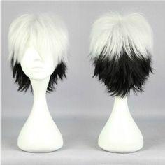 Gugure! Kokkuri-san Shigaraki Cosplay Wig