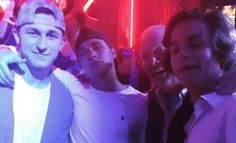 Johnny Manziel, who is relying on maintaining a clean image to get into the NFL, was spotted partying with a Celebrity Chef in Las Vegas. Johnny Manziel, Celebrity Chef, Vegas, Nfl, Concert, Celebrities, Party, Image, Celebs