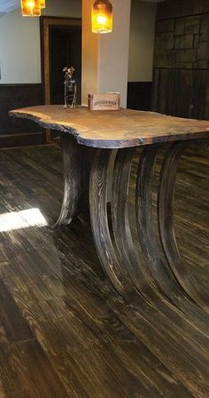 Joe and Joni Rocco of Artistic Floors by Design in Parker, Colo. Joe threw out a crazy idea for their basement floor - when is a floor more than just a floor?