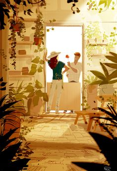 rainbow in your eyes | theartofanimation: Pascal Campion - ...
