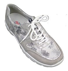 Waldlufer womens Leather Sneaker US 75 M  UK 5  EU 38  gray * Want additional info? Click on the image.(This is an Amazon affiliate link)