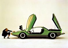 No idea what this concept car is, anyone ?