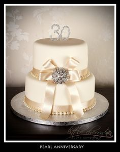 Pearl Anniversary « Little Cherry Cake Company